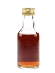 Glendronach 12 Year Old Sherry Cask Bottled 1980s 5cl / 40%