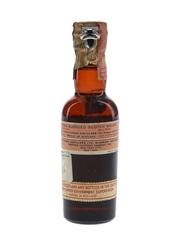 White Horse Spring Cap Bottled 1950s - Browne Vintners 4.7cl / 43.4%