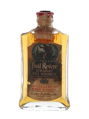 Paul Revere Straight Rye Whiskey Bottled In Bond Bottled 1930s 4.7cl / 50%