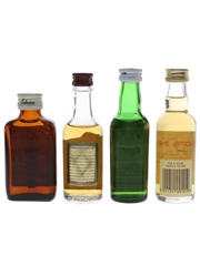 Assorted Blended Whisky Ballantine's, Chivas Regal, Cutty Sark & Pig's Nose 4 x 5cl
