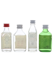 Assorted Gin Bombay, Booth's G&J & London Gin 4 x 5cl / 40%
