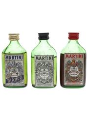 Martini Bianco, Dry & Rosso