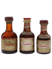 Drambuie Bottled 1960s & 1970s 3 x 5cl / 40%