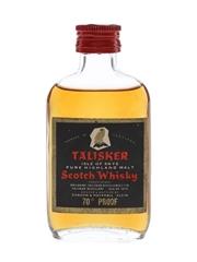 Talisker Black Label Gold Eagle 70 Proof Bottled 1970s - Gordon & MacPhail 5cl / 40%