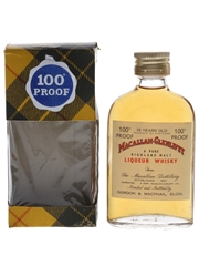 Macallan Glenlivet 15 Year Old 100 Proof Bottled 1960s-1970s 5cl / 57%