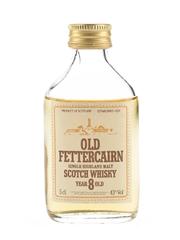 Old Fettercairn 8 Year Old Bottled 1980s - Whyte & Mackay 5cl / 43%