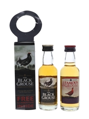 Black Grouse & Famous Grouse  2 x 5cl / 40%