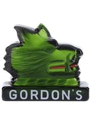 Gordon's Gin Boar Glass Mascot  14.5cm x 17cm