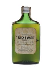 Buchanan's Black & White Bottled 1960s - Amerigo Sagna 25cl / 43%