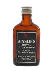 Ainslie's Royal Edinburgh Bottled 1960s 4cl
