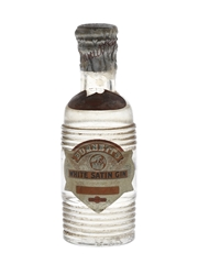 Sir Robert Burnett's White Satin Gin Spring Cap Bottled 1950s 5cl / 45%
