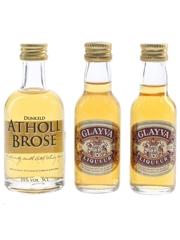 Atholl Brose & Glayva  3 x 3cl-5cl / 35%