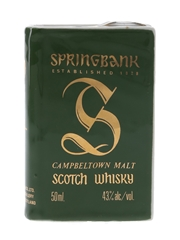 Springbank Volume I Bottled 1980s - Ceramic Book 5cl / 43%