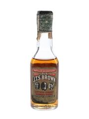 Old JTS Brown Bottled 1960s 5cl / 43%