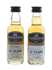 Glengoyne 10 & 12 Year Old  2 x 5cl