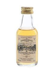 Glendronach 12 Year Old Original Bottled 1980s 5cl / 40%