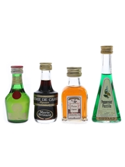 Asssorted French Liqueurs