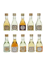 Assorted Royal Liqueurs Bottled 1970s-1980s 10 x 2.8cl / 30%