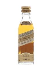 Johnnie Walker Gold Label 18 Year Old Bottled 1980s 5cl / 43%