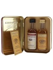 Glenmorangie Port Wood Finish & 10 Year Old Set Bottled 1990s 2 x 5cl