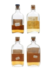 Assorted Blended Scotch Whisky Bottled 1950s 4 x 6cl