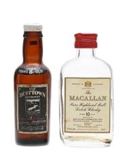 Macallan 10 Year Old & Dufftown 8 Year Old  2 x 5cl