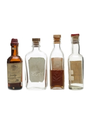 Assorted Blended Scotch Whisky Bottled 1950s 4 x 5cl