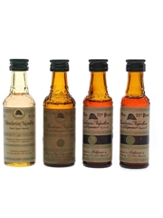 Mandarine Napoleon Bottled 1970s 4 x 3cl