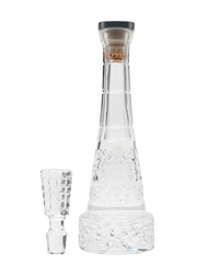 Pierre Smirnoff Crystal Decanter