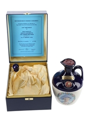 Rutherford's 100 Single Malts Ceramic Decanter 100th Birthday Of The Queen Elizabeth The Queen Mother 70cl / 40%