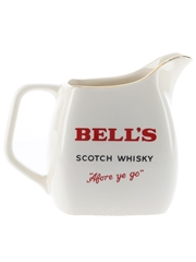 Bell's Scotch Whisky Afore Ye Go Water Jug Wade PDM 15cm Tall