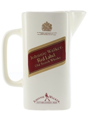 Johnnie Walker Red Label Water Jug Wade PDM 16.5cm Tall