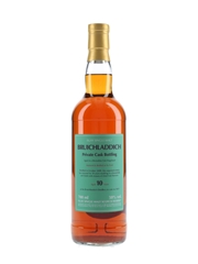 Bruichladdich 2009 10 Year Old Rivesaltes Cask 3653 Private Cask Bottling 70cl / 50%