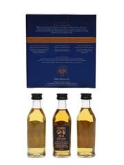 Glenfiddich Cask Collection Select, Reserve, Vintage Cask 3 x 5cl / 40%