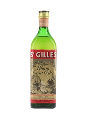Saint Gilles Rhum Bottled 1960s - Stock 75cl / 45%