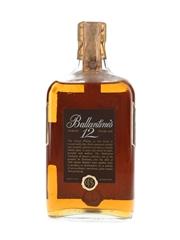 Ballantine's 12 Year Old Bottled 1970s - Spirit 75cl / 43%