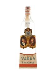 Stefanof Imperial Vodka Bottled 1960s - Buton 75cl / 40%
