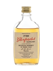 Glenfarclas Glenlivet 8 Year Old Bottled 1960s-1970s - Grant Bonding Co. 5cl / 40%