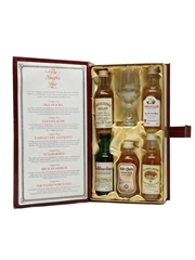 The Singles Bar Miniature Selection Bottled 1990s - Invergordon Distillers 5 x 5cl / 40%