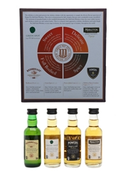 Single Pot Still Whiskeys Of Midleton Set Redbreast, Green Spot, Powers & Midleton 4 x 5cl