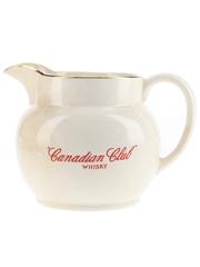Canadian Club Ceramic Water Jug Wade 10cm Tall