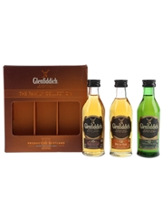 Glenfiddich Family Collection 12, 14 & 15 Year Old 3 x 5cl / 40%