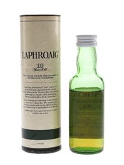 Laphroaig 10 Year Old Bottled 1980s-1990s - Pre Royal Warrant 5cl / 40%