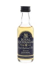 Royal Lochnagar 12 Year Old Bottled 1980s 5cl / 40%