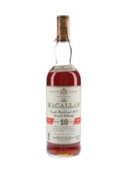 Macallan 10 Year Old Full Proof