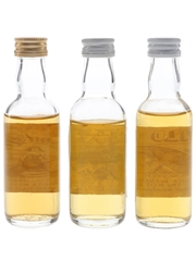 Pheasant Plucker, Tinkers Dram & Wild Oats Bottled 1980s - George Strachan 3 x 5cl / 40%