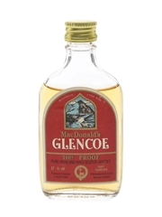 MacDonald's Glencoe 8 Year Old 100 Proof Bottled 1970s 5cl / 57%