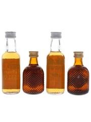 Douglas Laing Clydebank, Lochlomac & Skipper Bottled 1980s 4 x 5cl / 40%