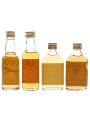 Lambert Brothers Blended Whisky Bottled 1980s 4 x 5cl
