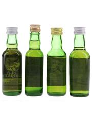 Paisley Whisky Co. Blends Bottled 1980s 4 x 4.7cl-5cl / 43%